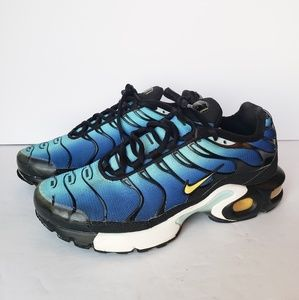 Nike Air Max Plus Hyper Blue Size #5.5 Youth = #7W